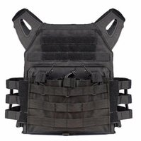 airsoft safety gear - Tactical Plate Carrier Airsoft Vest Ammo Magazine Chest Rig Paintball Gear Body Armor
