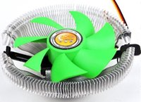 Wholesale Fashion Black Electronic PC Laptop Computer Networking Accessories Aluminum CPU Fans Heatsink Radiator Cooling Pads