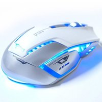 Wholesale Hot selling Mosunx E lue D Mazer II DPI Blue LED GHz Wireless Gaming Mouse For PC Laptop