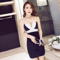 Wholesale Brand new sexy vest bottoming strap Slim dress Perfect shaping Was thin