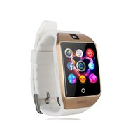 English arc support - Newest NFC Smart Watch Q18S Arc Clock support camera Sim TF Card Bluetooth Connection For Android smartPhone PK GV18 Q18