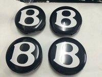 bentley oem wheels - 4PCS For Bentley wheel hub cap mm good quality quot B quot CENTER CAP OEM W0601170F DHL