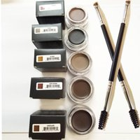 Wholesale Brow Duo Eyebrow Brushes Eyelash Comb Brush Blending Brush Eyebrow Cosmetics Makeup Brush Set
