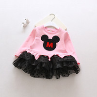 baby party costumes - Baby Kids Clothing vintage Flower girls dresses children Casual Dot Cotton Ball gowns princess costume party dress toddler clothes