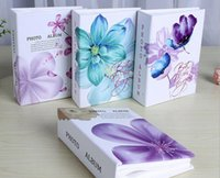 Wholesale 2016 BEST SELLING PHOTO D INCH SIDEKICKS SERIES A PLASTIC BABY MEMORY PHOTO ALBUM ONLY BEAUTIFUL FLOWERS STYLE