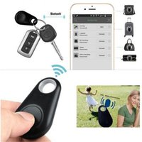 Wholesale DHL free mini bluetooth gps tracker for car smart key finder itag anti lost alarm tracker with android free down load pet nut