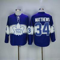 Wholesale Men Toronto Maple Leafs Auston Matthews Mitch Marner Blue th Centennial Classic Premier Jersey stitched S XL