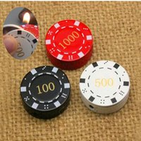 bargain gifts - Bargaining Chip Cigarette Lighter Refillable Butane Gas Cigarette Lighter Random Color for Gift Collection