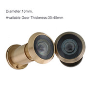 antique door plates - gold antique color Chrome plated Degree Wide Angle Viewer Spyphole Door Peephole for home security system