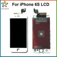 Wholesale Grade AAA Quality For iPhone s LCD Assembly Inch Display With Touch Screen Digitizer Replacement Free DHL Shipping Tools