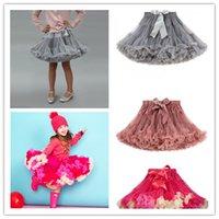 Wholesale Fashion Fluffy Girls Party TUTU Skirt Dance Dress for T T