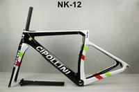 Precio de Marcos de carreras-Cipollini marco de carbono bicicleta de carretera marco 2017 carreras marco de bicicleta marco de bicicleta de fibra de carbono, tenedor, sillín, auricular, abrazadera