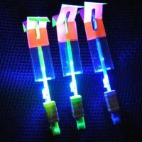 Unisex arrow space - LED Arrow Helicopter LED Amazing Arrow Flying Helicopter Umbrella Kids Toys Space UFO LED Light Toys Christmas Halloween Flash Toys