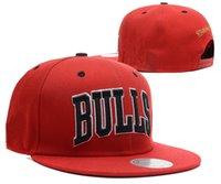 Wholesale 2017 New Brand Hip Hop Bulls Gorras Snapback Caps Fashion Adjustable Basketball Baseball Cap Hat Bones Chicago