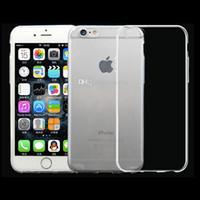 achat en gros de samsung case-Pour iPhone 7 Soft TPU Ultra Mince 0.3mm Clear Iphone 6 6s Case Soft Transparent gel Case Note 5 Retour Sac Opp Case