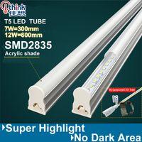 Wholesale pieces t5 led tube light w w led lamp cm cm smd2835 ac v v v aluminum pc engineering plastics led light