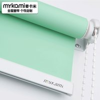 Wholesale Windows Roller Shades Solar Roller Shades Blackout Office Home colors of White Grey Blue Green Light Blue