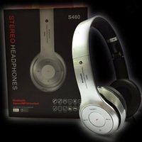 audio blackberry - S460 On ear Stereo Audio Bluetooth Auriculares Headset Wireless Headphones Support TF Card FM Radio Head Phones