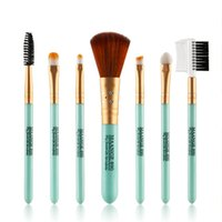 Wholesale Set Makeup Brushes Cosmetic Kit Tool Eyeshadow Powder Foundation Lip Brush Top Good
