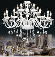 Large White Modern Chandeliers UK | Free UK Delivery on Large ...:Cheap 10sq.m ~ Under chandelier crystal light Best CE 15 to 19 Inch crystal,Lighting
