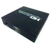 Wholesale new HD Video Converter HDMI to CVBS HDMI Auto Scale HDMI to HDMI CVBS Audio