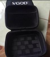 Wholesale custom nylon canvas zipper case for electronic cigarette China DIY cigarette bag branded vgod case box mm vape carrying bags waterproof