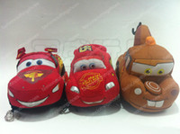 Wholesale Plush toys lightning McQueen car PP cotton to cm soft plush animal dolls F002