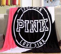 Couverture de Noël Victoria Coral Couverture en laine Classic Love Pink Keep Body Salon chaleureux new Blanket de lit 130cm * 150cm