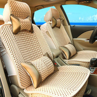 Wholesale Ice silk Car Seat Covers cool in summer Business Purpose Vehicle Five seat Car cushion seat cover