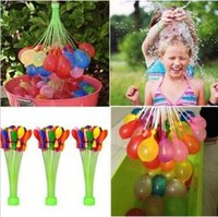 Wholesale 1set balloons Colorful Water Balloon Amazing Magic Water Balloons Bombs Toys for Kids Summer Beach Water Sprinking Balloon CCA5753 set
