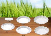 venda por atacado porcelain plates-Imitação Porcelana Melamina Dinnerware Dinne Plate Stripe Plate Restaurante De Moda Com Melamina Dish A5 Mesa De Melamina
