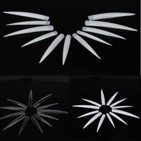 acrylic nail claws - High Quality pc Long Stiletto Claw Nail Tips False Pointy Nails Sharp Spike Gel Acrylic