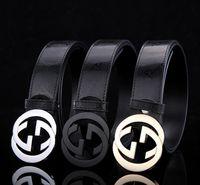 Wholesale new fashion luxury Brand gg buckle designer luxury belt men l high quality genuine leather v belt for women classic men ff belts