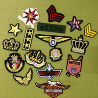 Cheap Patches Iron On Patches Best 17pcs As the pic Motorcycle Patches