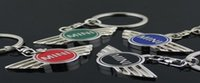 batch logos - 2016 Direct selling many of your car hollow logo Keychain Key Chain keyholders four color mixed batch