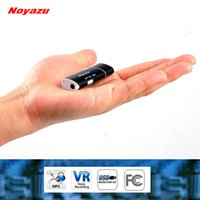 Wholesale NOYAZU V17 Smallest Professional GB Digital Voice Recorder Mini Dictaphone USB Digital Audio Voice Activated Recorder MP3 Player