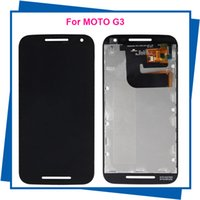 Wholesale For Motorola Moto G3 G rd Gen XT1541 SmartPhone LCDs Lcd Display Touch Screen Digitizer Assembly Guarantee