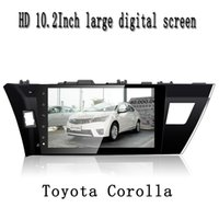 Wholesale car dvd Inch HD Digital Touch Screen Car Multimedia Player Andriod Quad Core GPS Navigation for Toyota Colora Series