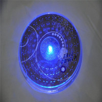 bar mats sale - Sale New Round Placemat Led Flashing Lights for m Sticker Bottle Cup Mat Coaster for Clubs Bars Party Living Accessories