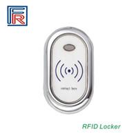 Wholesale 10pcs Low LF Khz Card Electric Wireless Sauna door locker Hotel Fitness Cabinet lock Zinc alloy