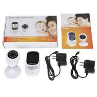 Wholesale 2 inch Wireless Camera Baby Monitor mm Lens Night Vision Two way Sleep Monitor Temperature Detection Infrared Light Indoor Home Securit