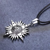 allen alloys - MJ Jewelry Anime D Gray man Silver Color Allen Logo Pendant Necklace Cosplay Jewelry Gifts Accessories