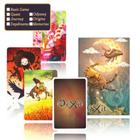 basic memory - dixit English board game basic quest odassey origins journey daydreams memories with giftbox playing card jogo dixit dixit juego