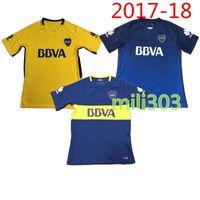 Soccer Men Short Top Thai quality 17 18 Brazil Bocaes Juniors sports jersey  2017 2018 CARLITOS 83664294e