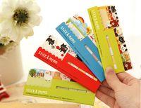 Wholesale 1pcs Cute Kawaii Fresh Cartoon Sticker Post It Bookmark Marker Memo Index Tab Sticky Notes