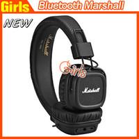 Cheap Marshall Major II 2.0 Bluetooth Wireless Headphone in Black