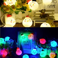 baby string lights - Snowman LEDs String Lights Copper Wire for Christmas Thanksgiving Baby Shower Indoor Parties and Home Decorations