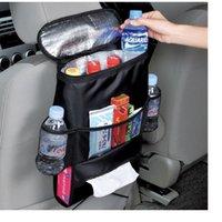Wholesale Car Cooler Bag Cooling Case Pouch Auto Car Seat Organizer Sundries Holder Multi Pocket Travel Storage Bag Backseat Hang Bag WA2118