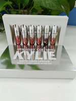 Wholesale New release Kylie Cosmetics HOLIDAY EDITION Piece Chrismas Edition in Box Matte Lipstick Collection Set DHL