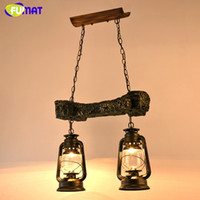 Wholesale Vintage Glass Kerosene Lamp Classic Pendant Lamp Decoration Home Lighting Fixture Retro Industrial LOFT Pendant Lights